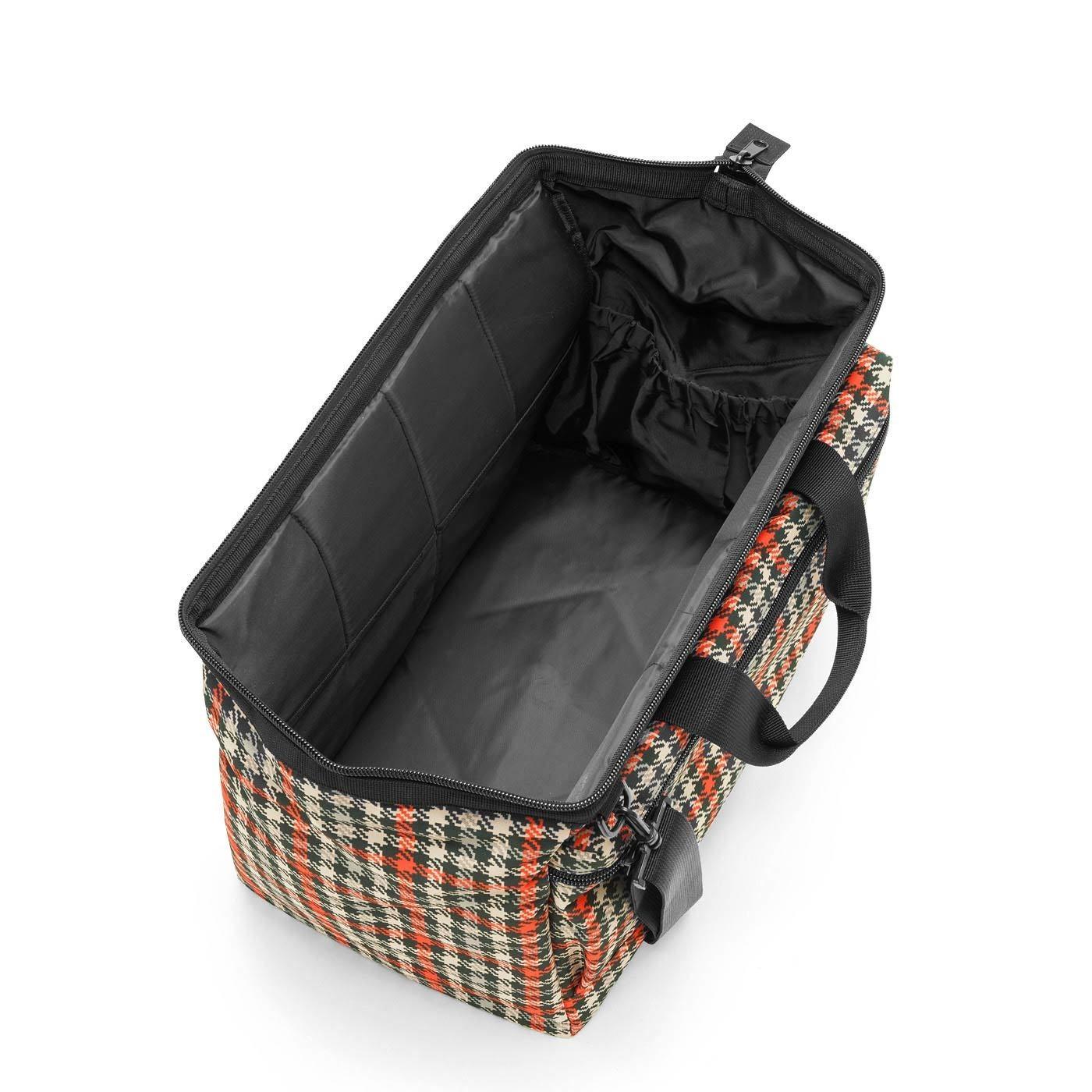 Cestovní taška ALLROUNDER L pocket glencheck red_0