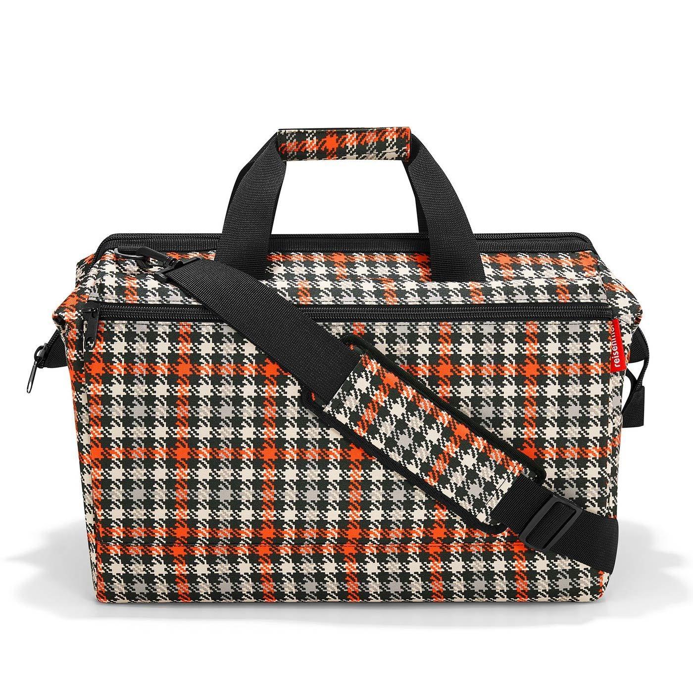 Cestovní taška ALLROUNDER L pocket glencheck red_1