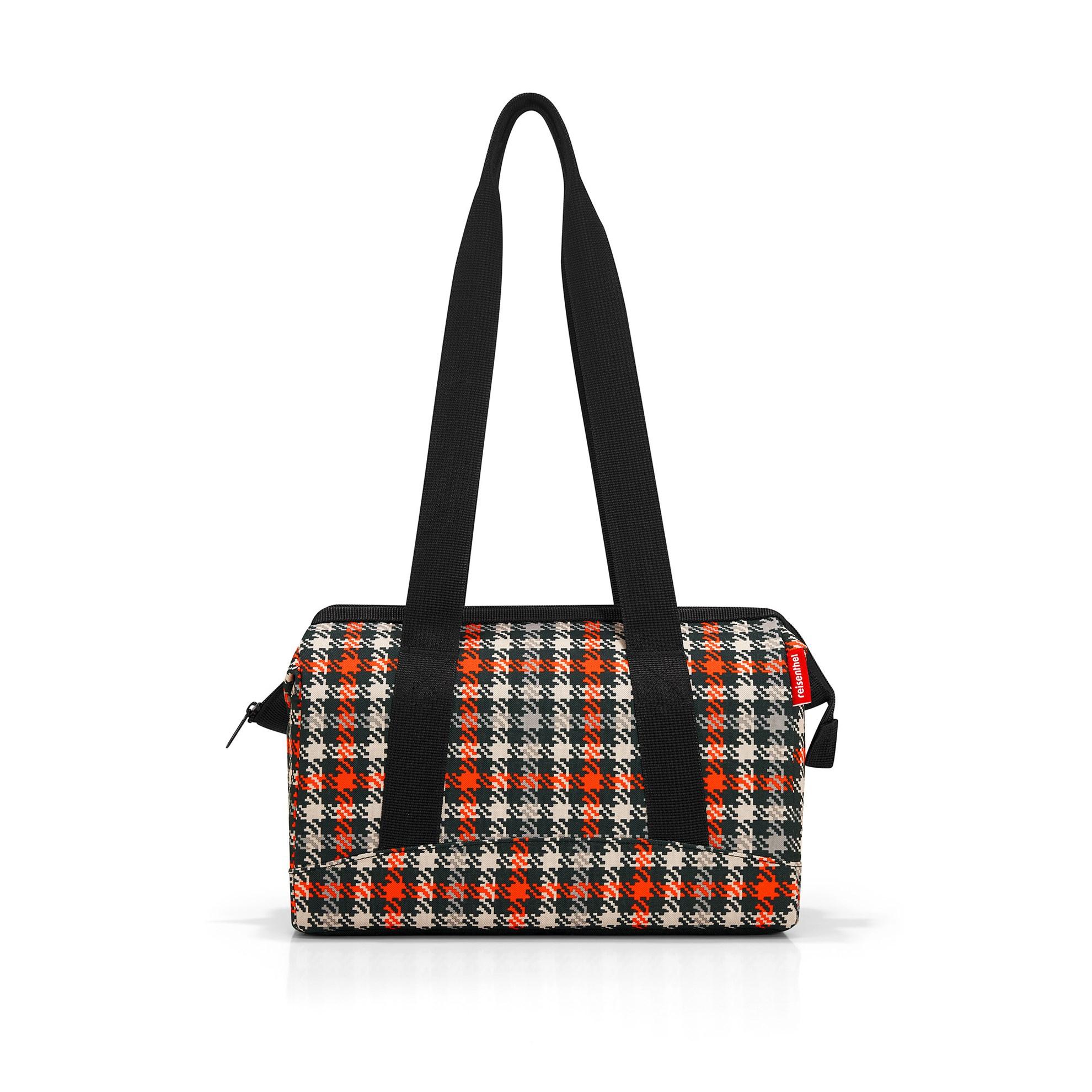 Cestovní taška ALLROUNDER S glencheck red_1