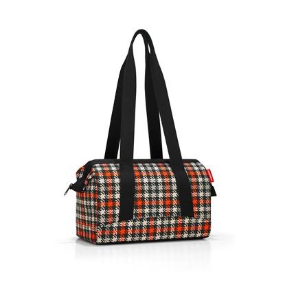 Cestovní taška ALLROUNDER S glencheck red_2