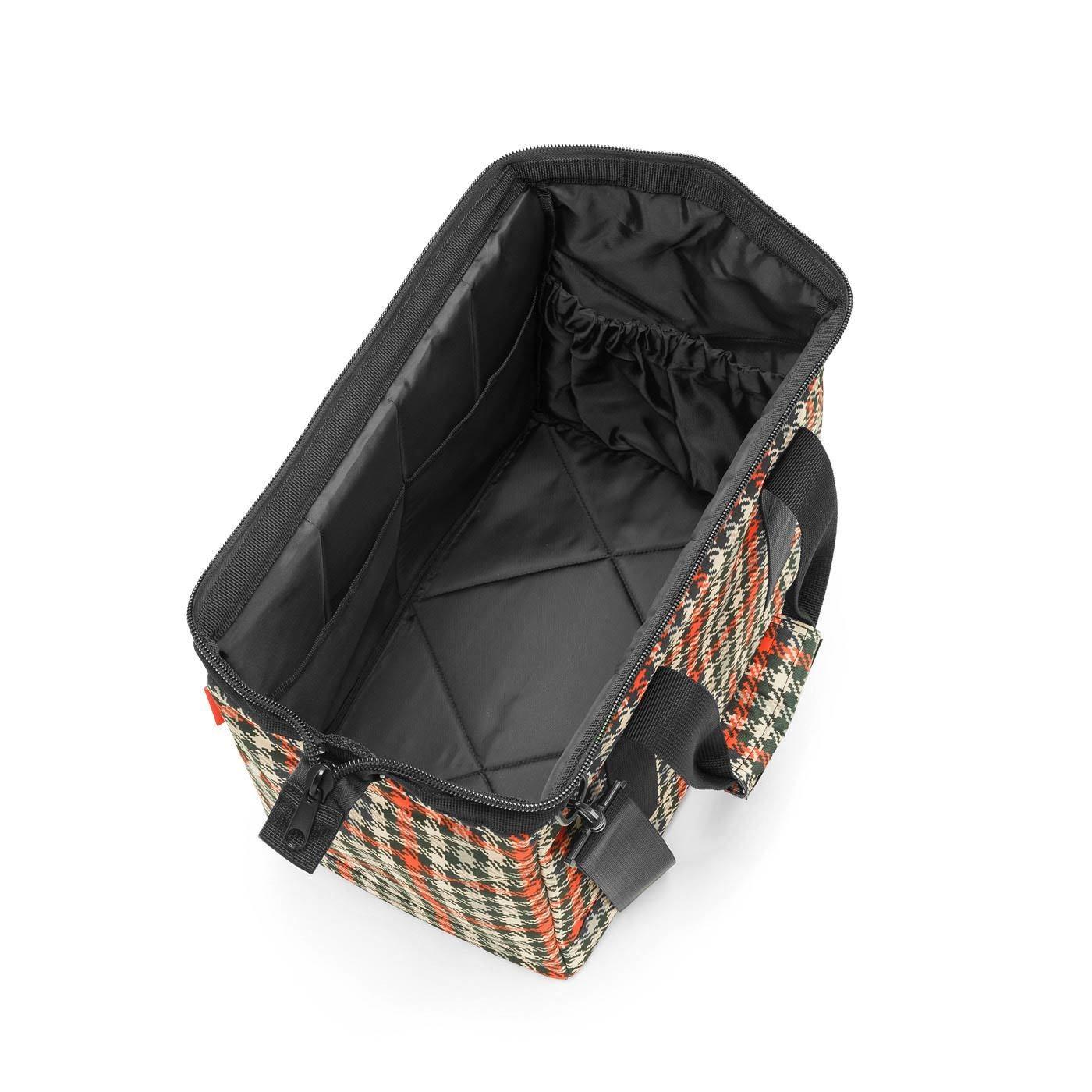 Cestovní taška ALLROUNDER M glencheck red_0