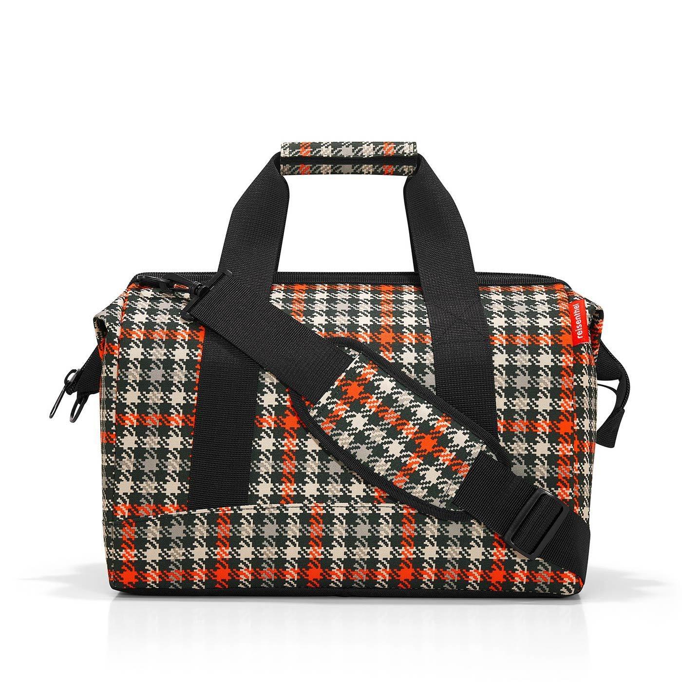 Cestovní taška ALLROUNDER M glencheck red_1