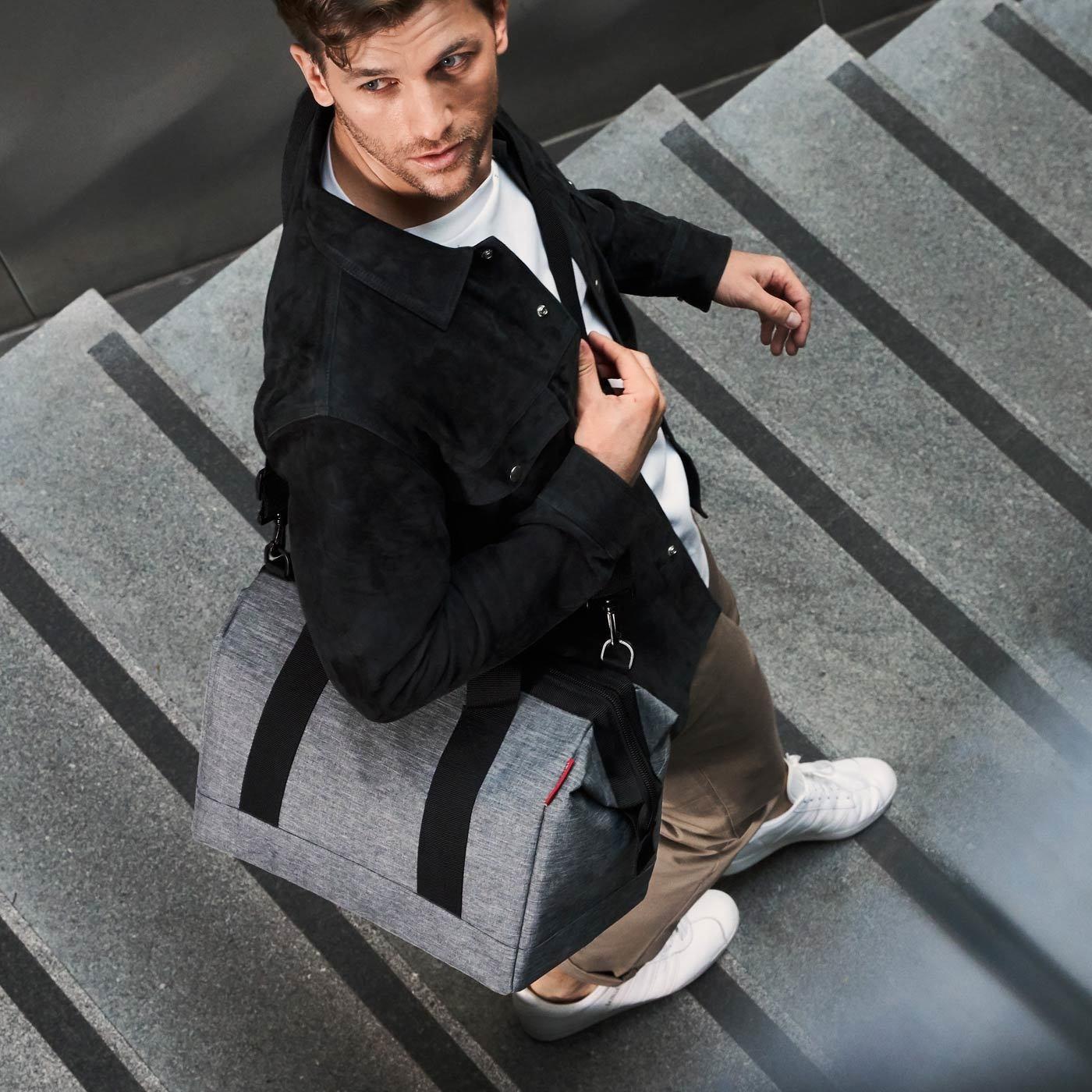 Cestovní taška ALLROUNDER M twist silver_0