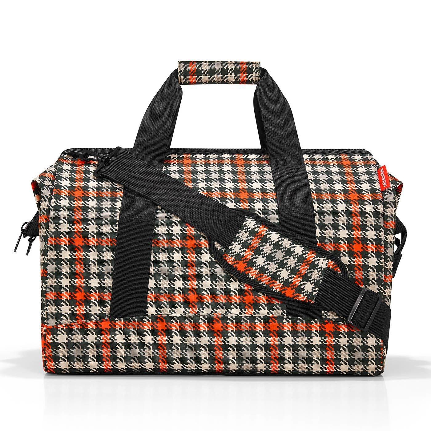 Cestovní taška ALLROUNDER L glencheck red_1