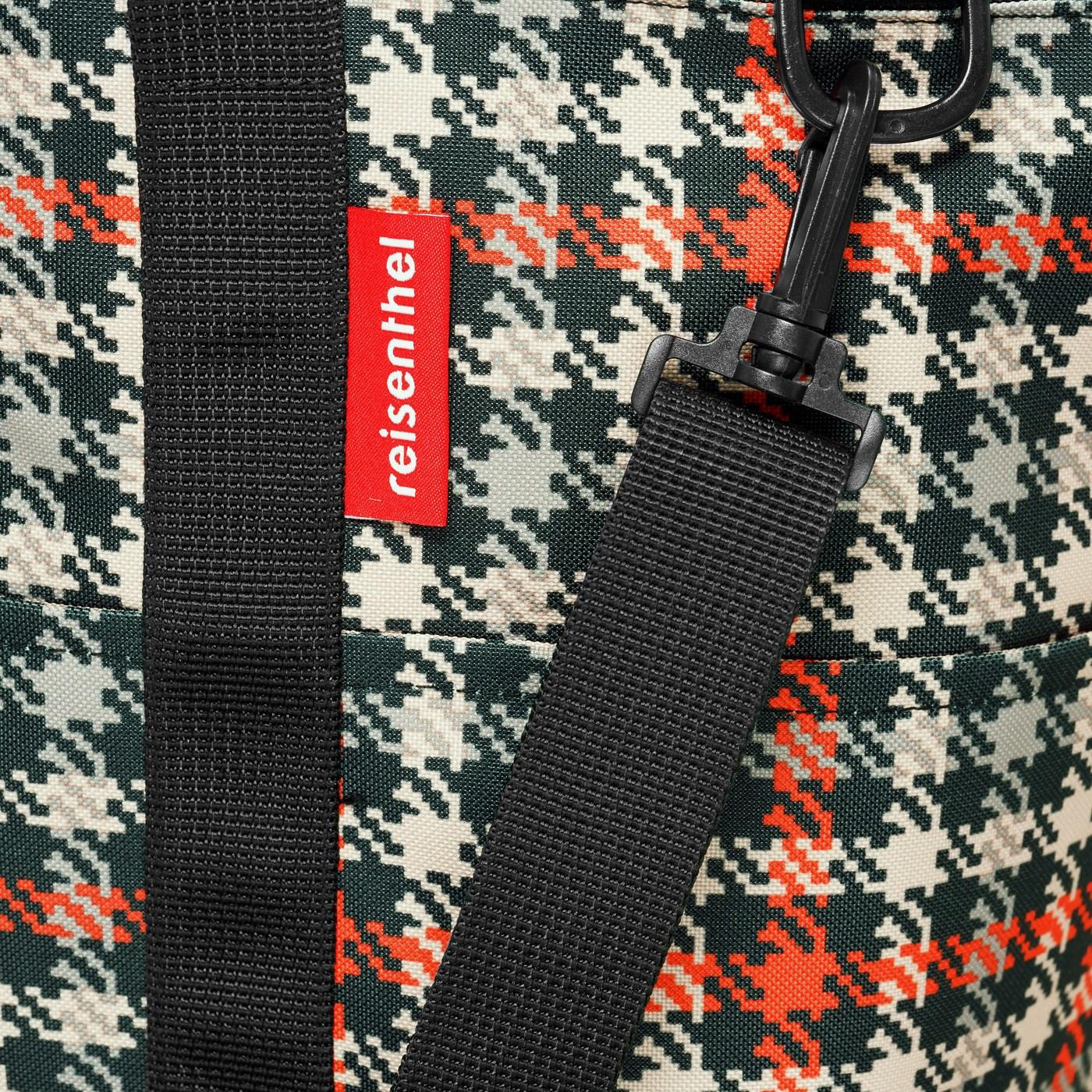 Multifunkční taška MULTIBAG glencheck red_0