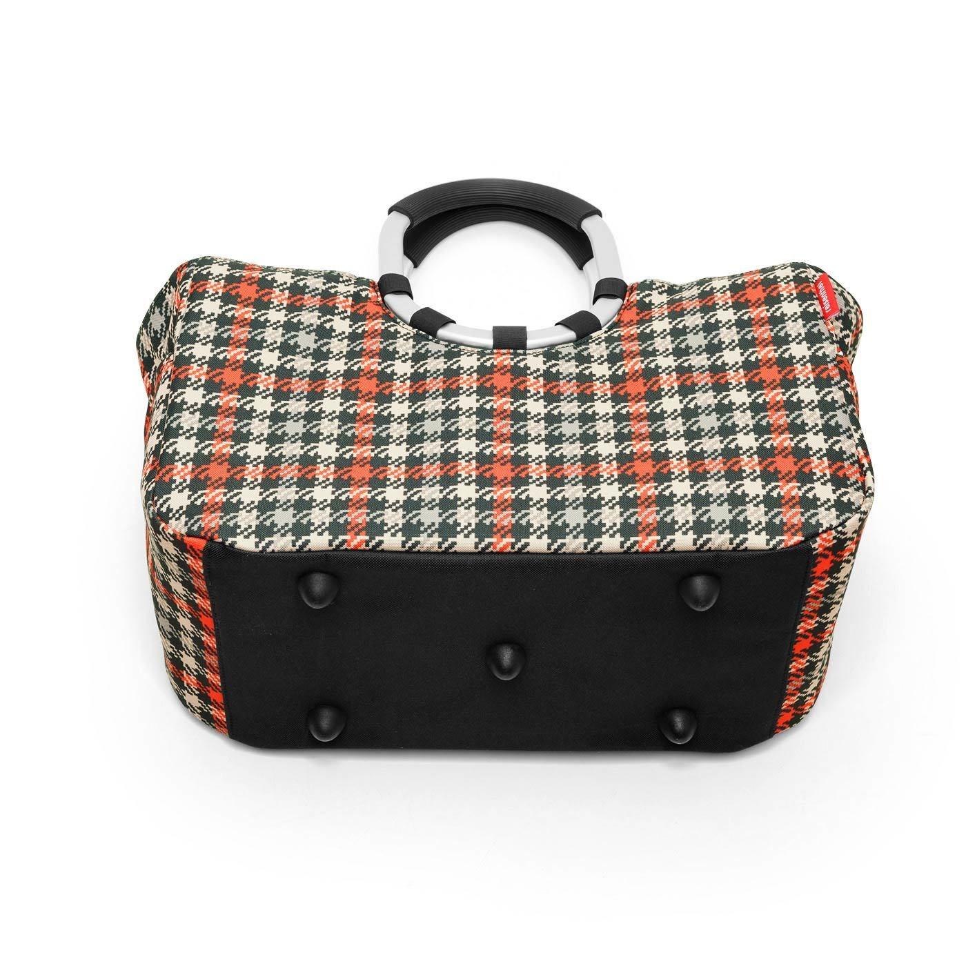 Nákupní taška LOOPSHOPPER M glencheck red_1