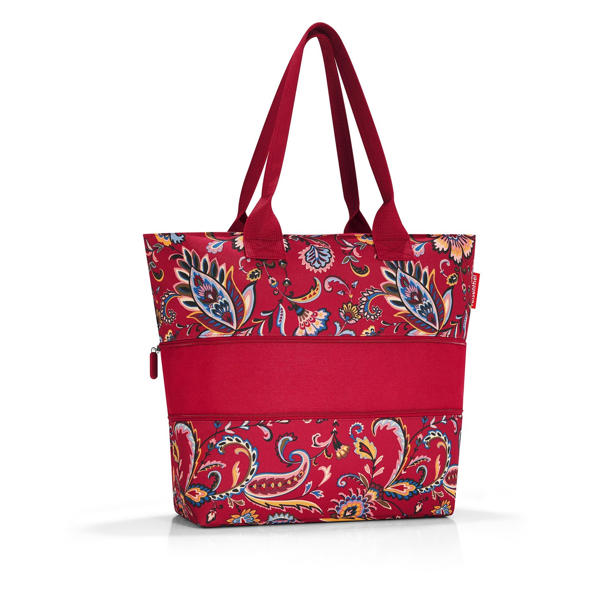 Nákupní taška SHOPPER e1 paisley ruby_0