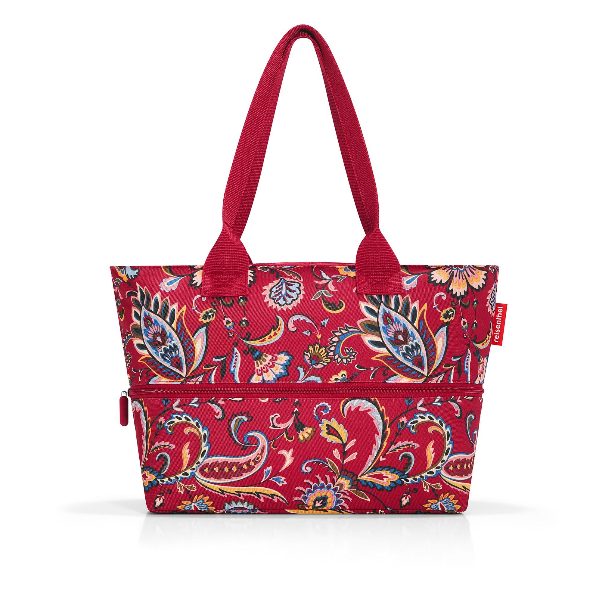 Nákupní taška SHOPPER e1 paisley ruby_1