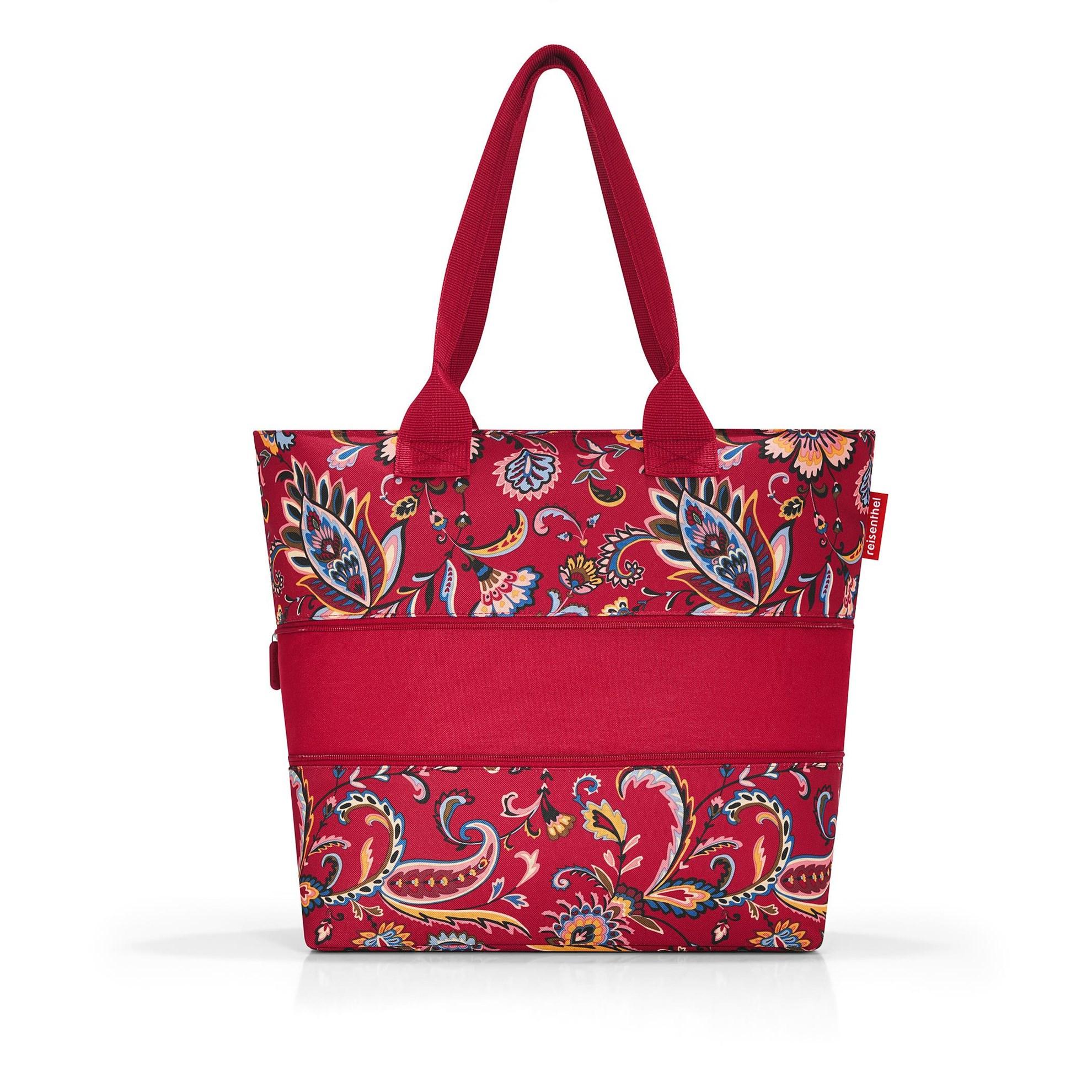 Nákupní taška SHOPPER e1 paisley ruby_2
