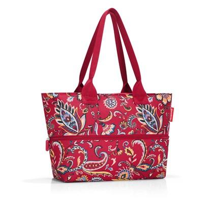 Nákupní taška SHOPPER e1 paisley ruby_3