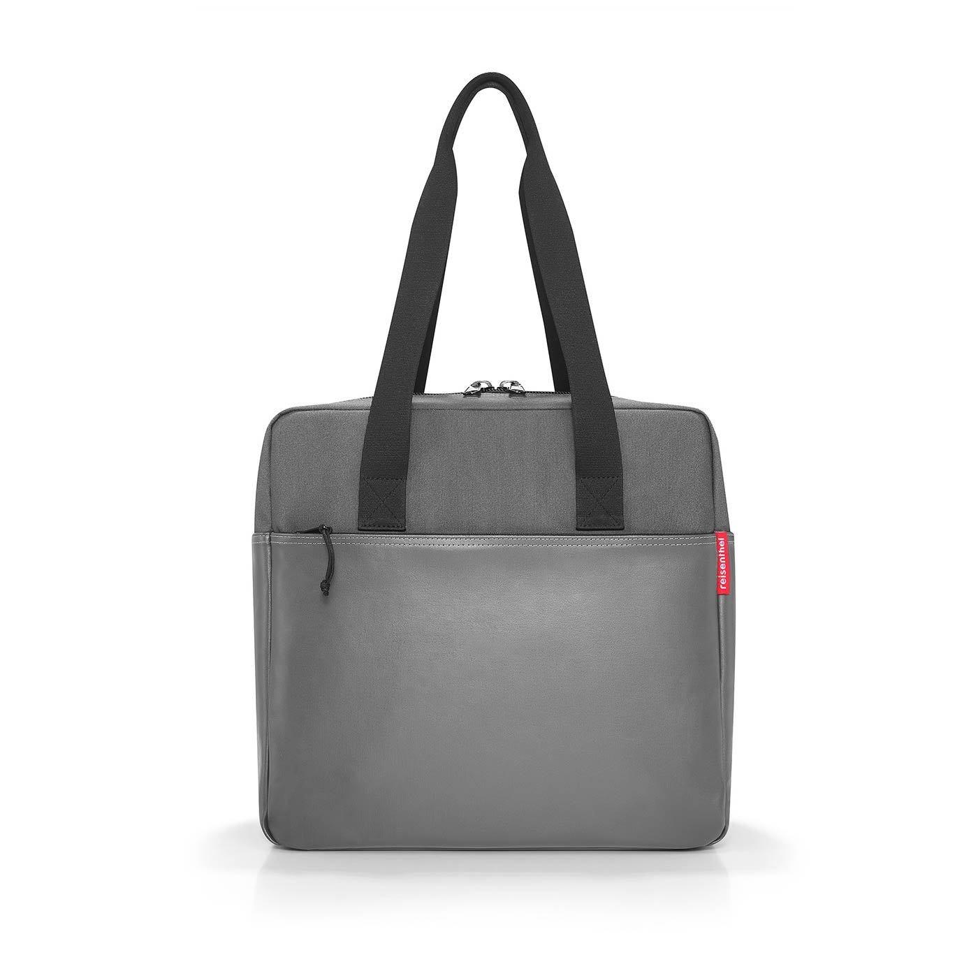 Cestovní taška PERFORMER canvas grey_0