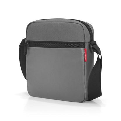 Taška přes rameno CROSSBAG canvas grey_1