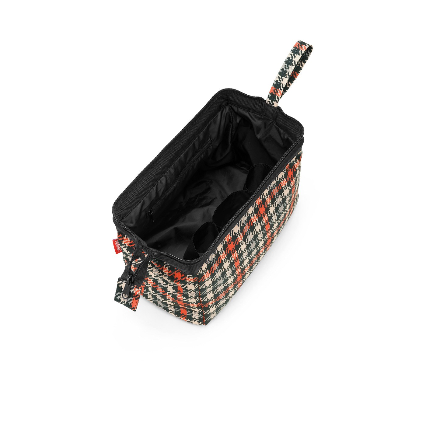 Kosmetická taška TRAVELCOSMETIC glencheck red_0