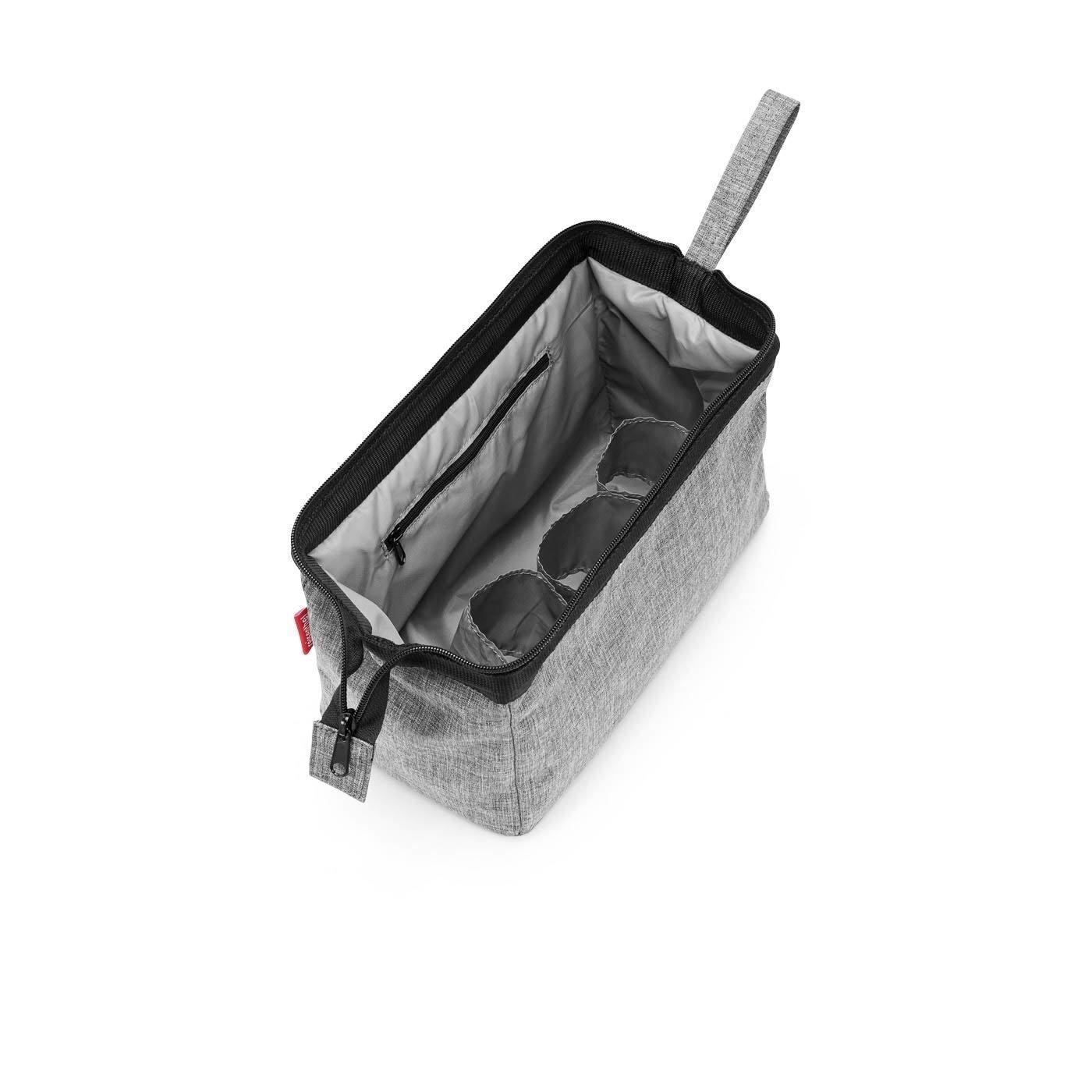 Kosmetická taška TRAVELCOSMETIC twist silver_0