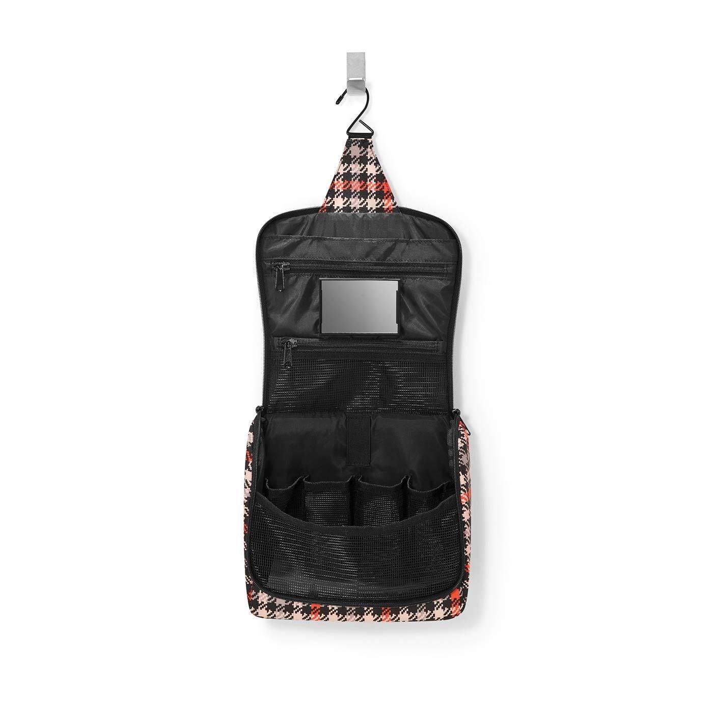 Kosmetická taška TOILETBAG glencheck red_0