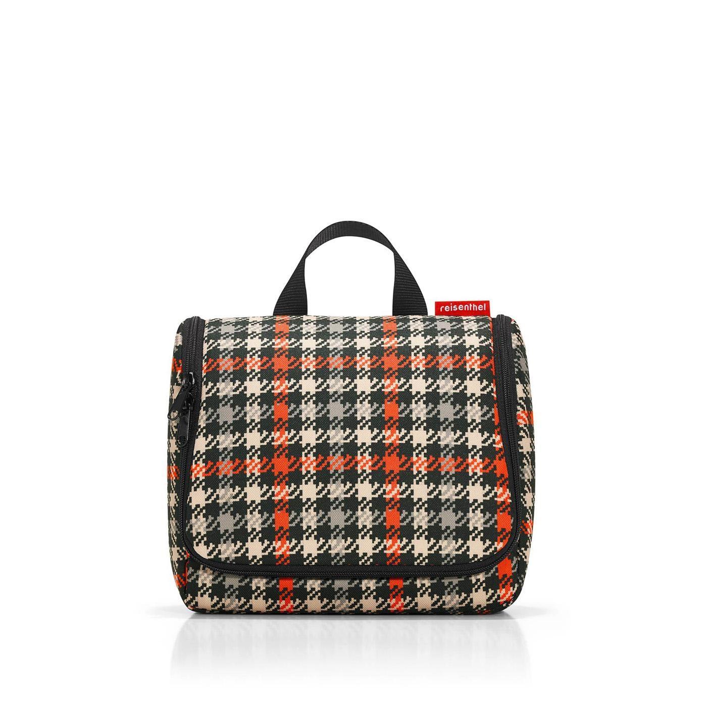Kosmetická taška TOILETBAG glencheck red_1