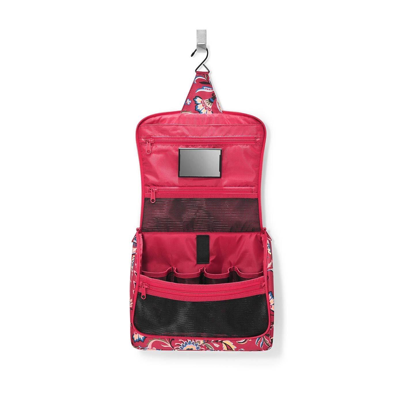 Kosmetická taška TOILETBAG XL paisley ruby_0