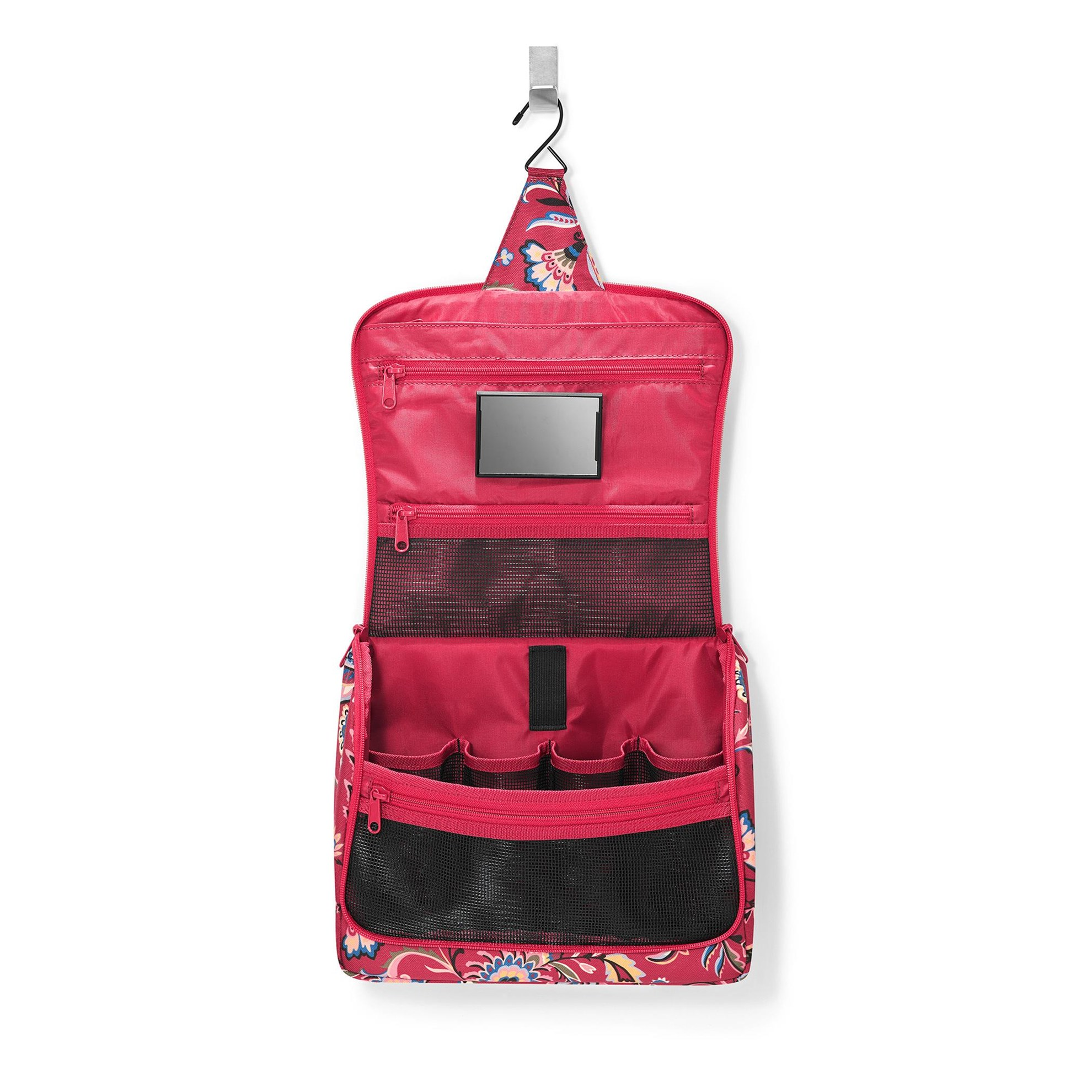 Kosmetická taška TOILETBAG XL paisley ruby_1