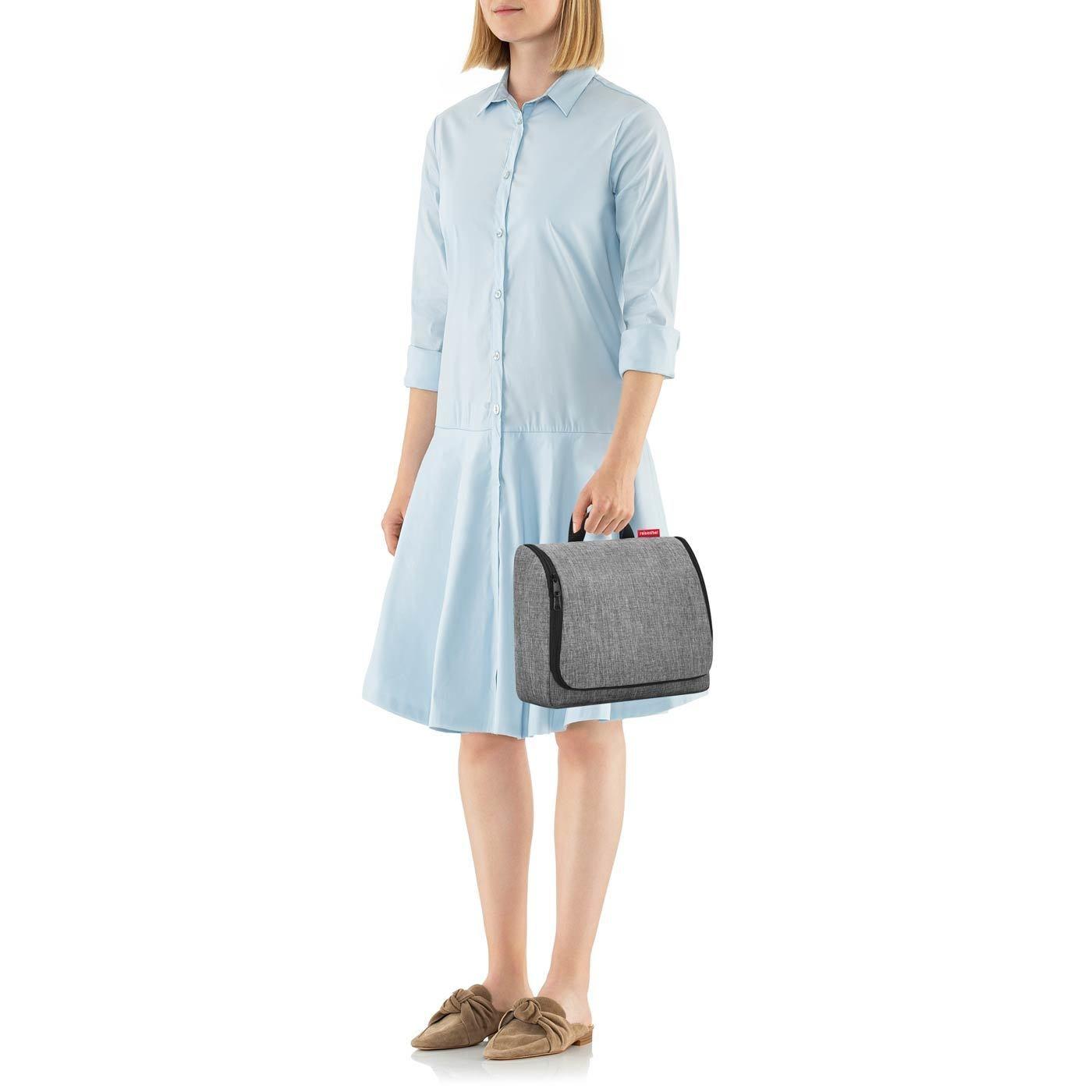 Kosmetická taška TOILETBAG XL twist silver_1