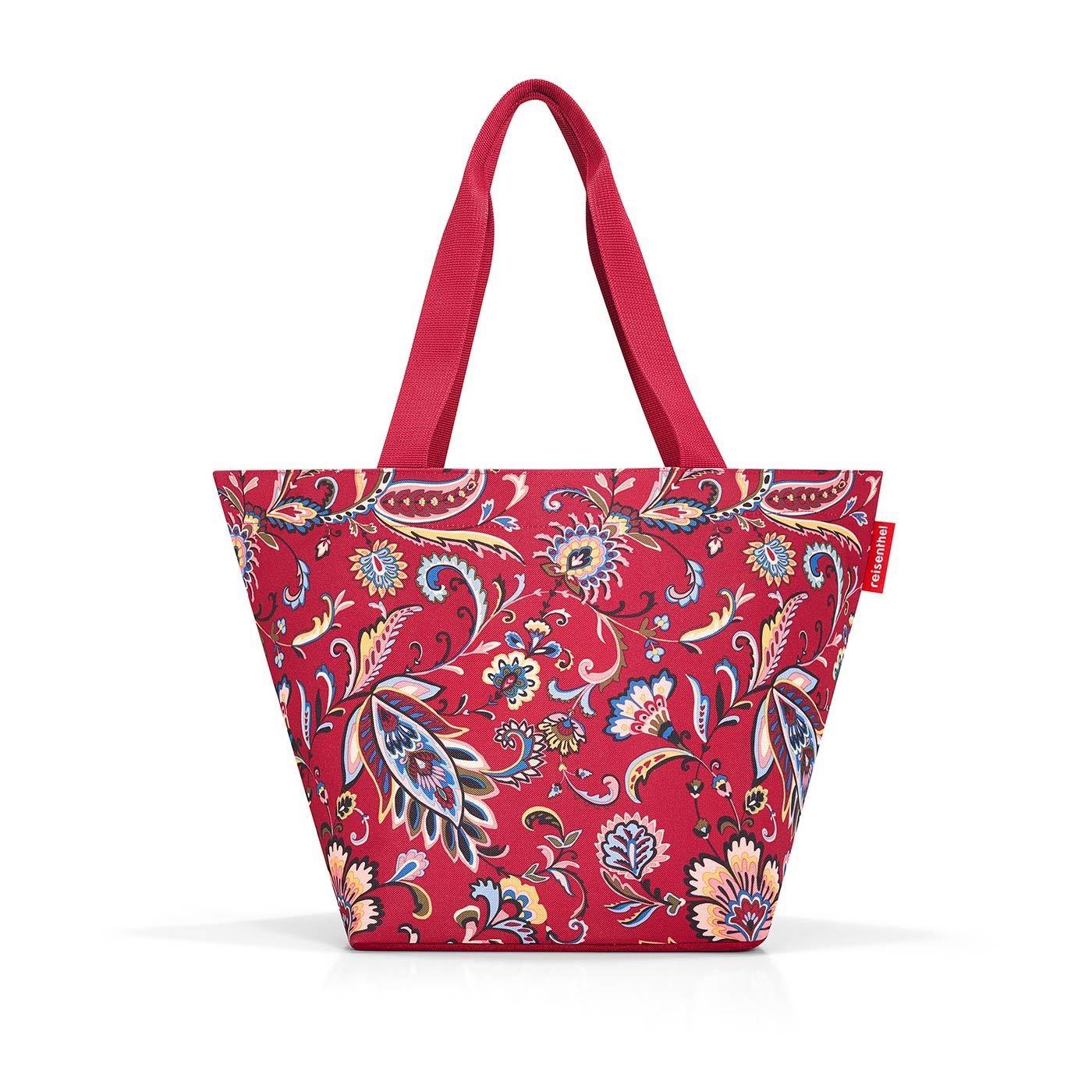 Nákupní taška SHOPPER M paisley ruby_0