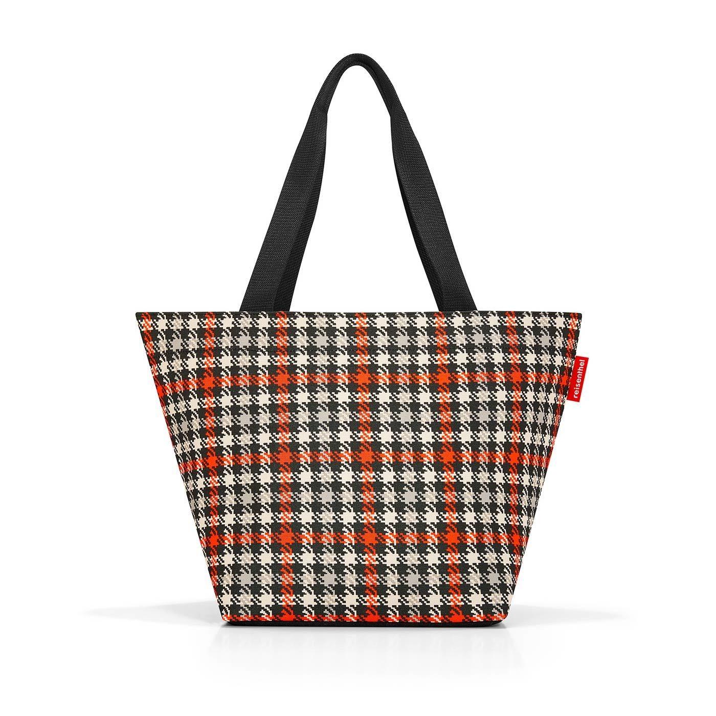 Nákupní taška SHOPPER M glencheck red_0