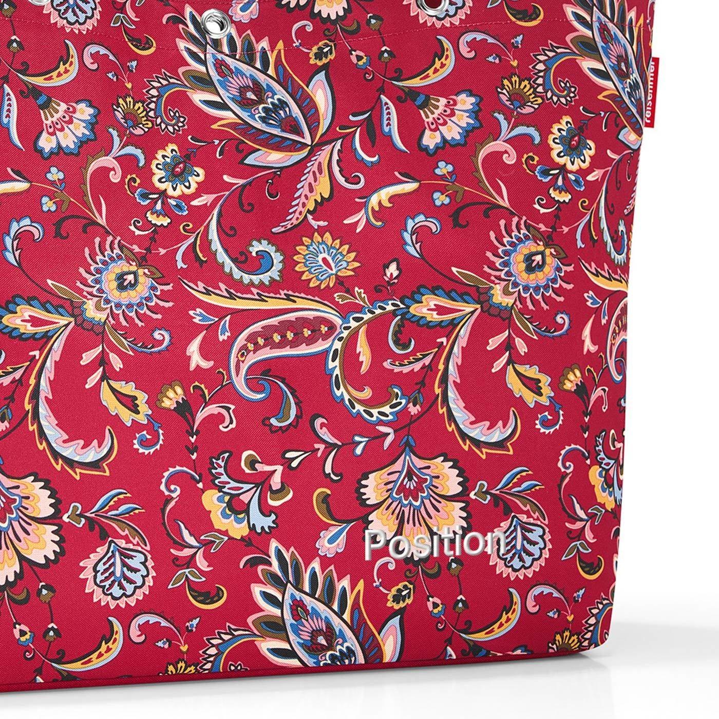 Nákupní taška SHOPPER XL paisley ruby_1