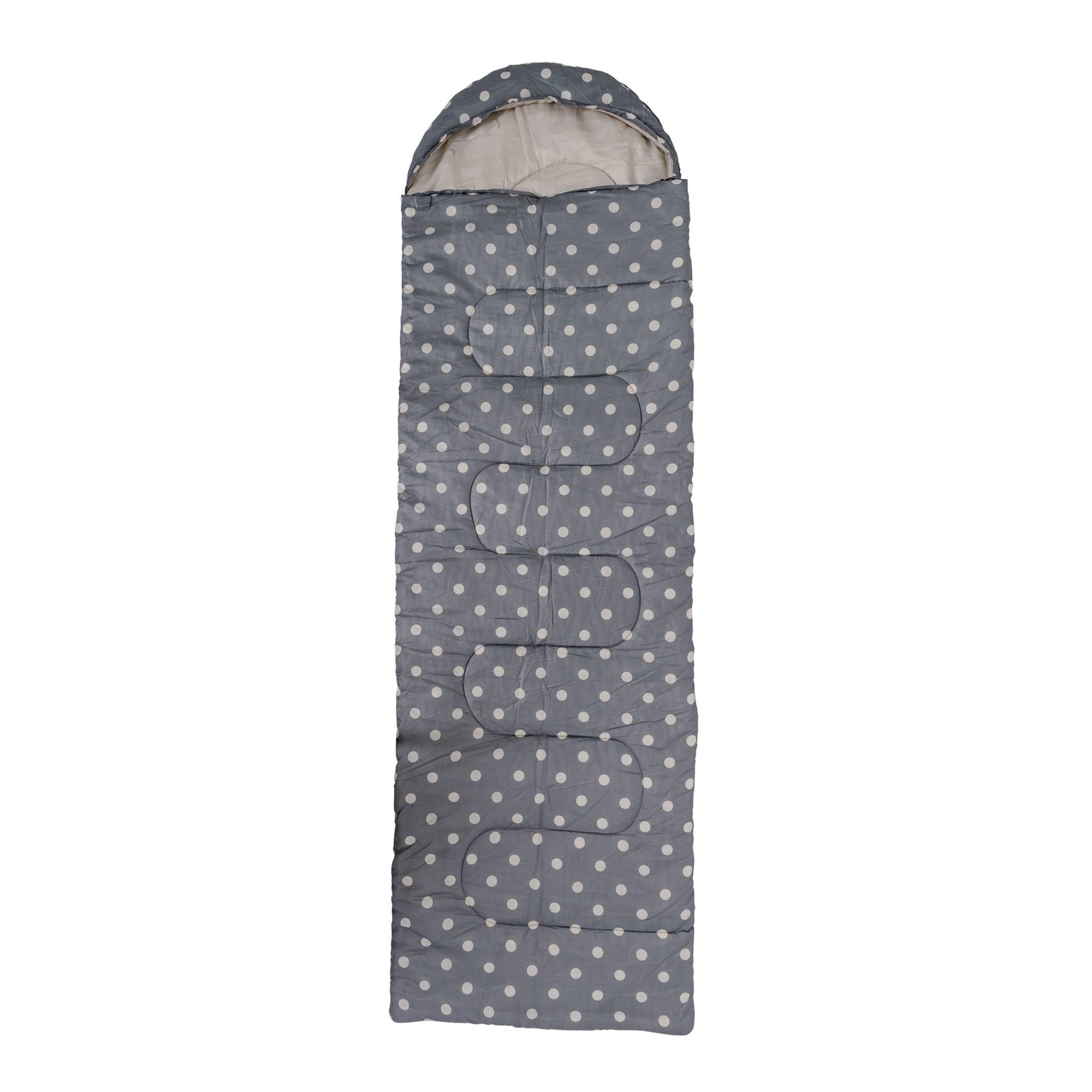 Stylový spacák s puntíky 195x70 cm_1