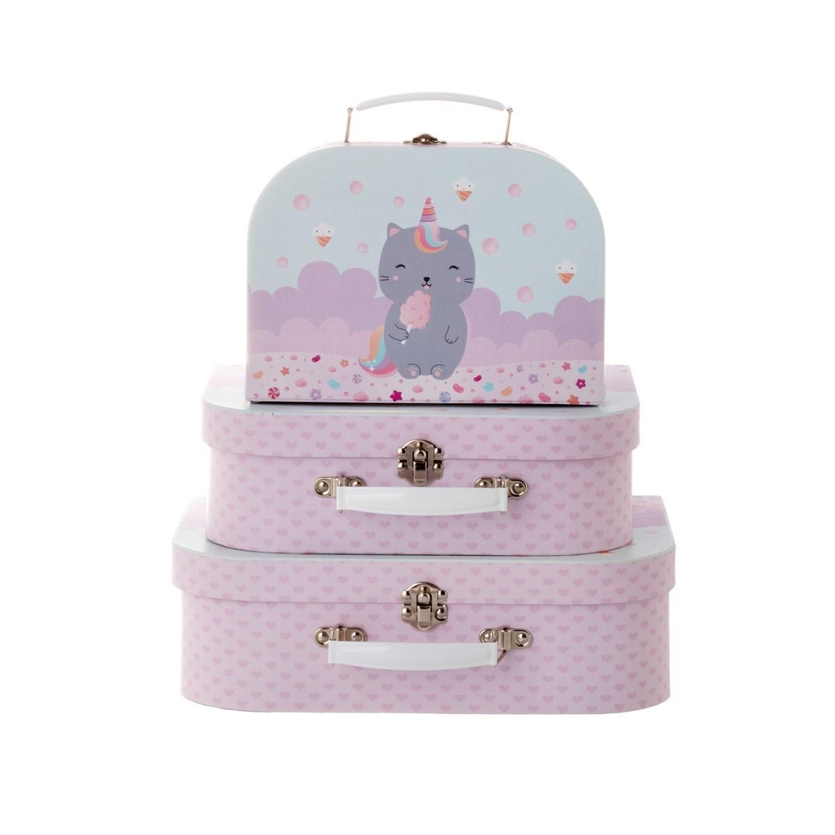 Kufříky Luna Caticorn SET/3ks_0