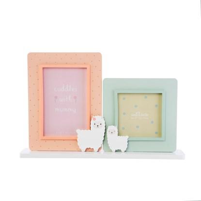 Fotorámeček Little Llama 10x10 a 10x15 cm_1