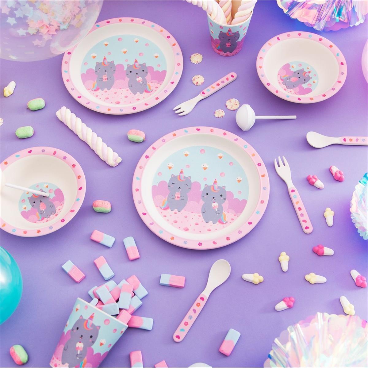 Dětský jídelní set Luna Caticorn_3