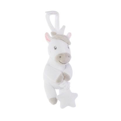 Plyšová hračka Evie Unicorn, vrní po natažení_3