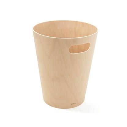 Odpadkový koš WOODROW 28 cm přírodní_0