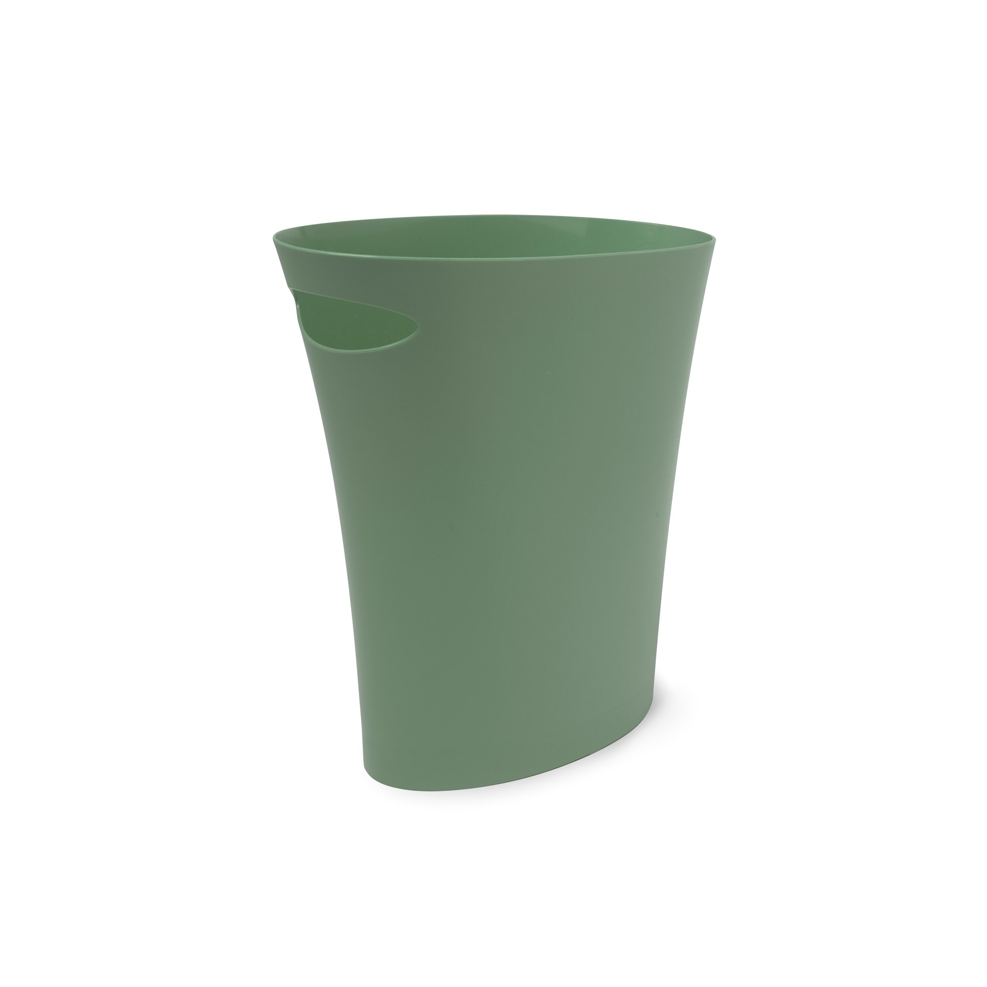 Odpadkový koš SKINNY 7,5 l zelenošedý_1