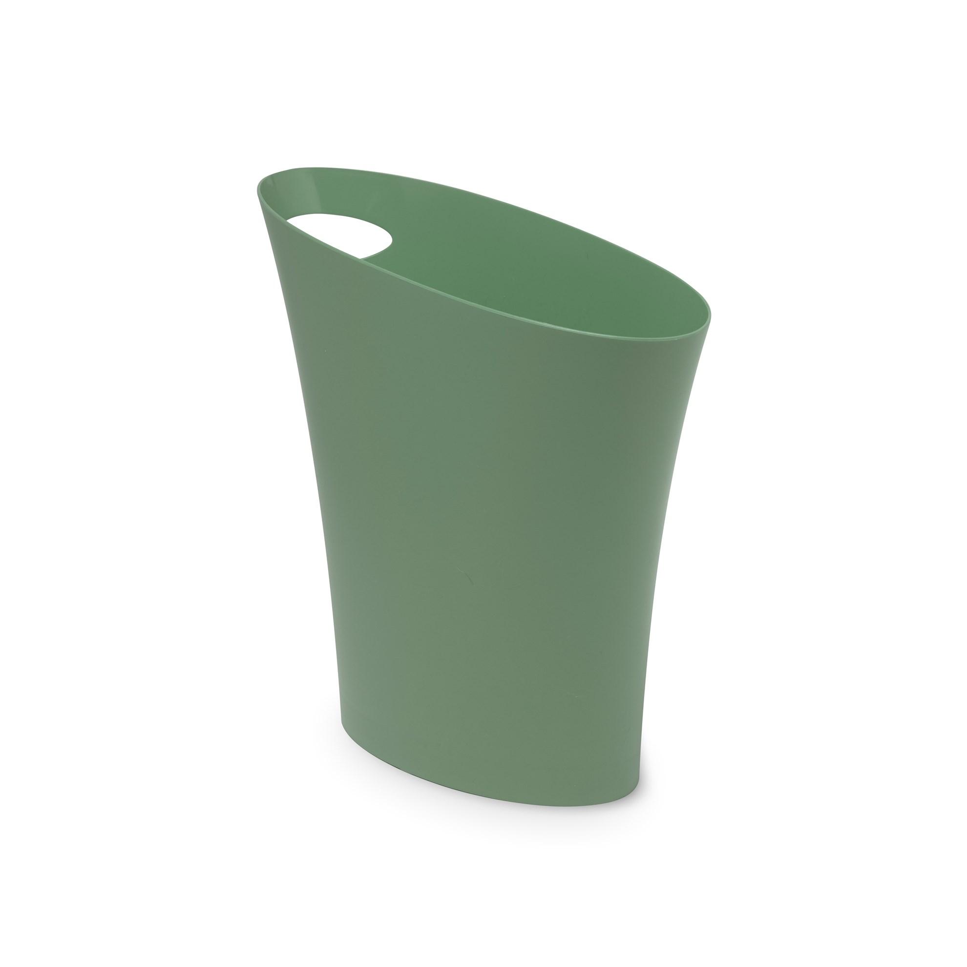 Odpadkový koš SKINNY 7,5 l zelenošedý_4