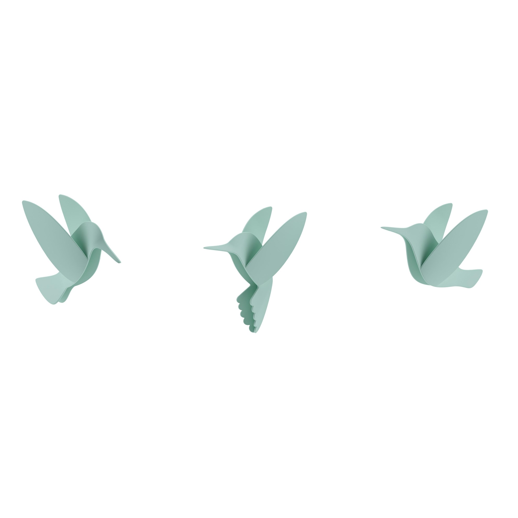 Dekorace na zeď HUMMINGBIRD SET/9ks_0