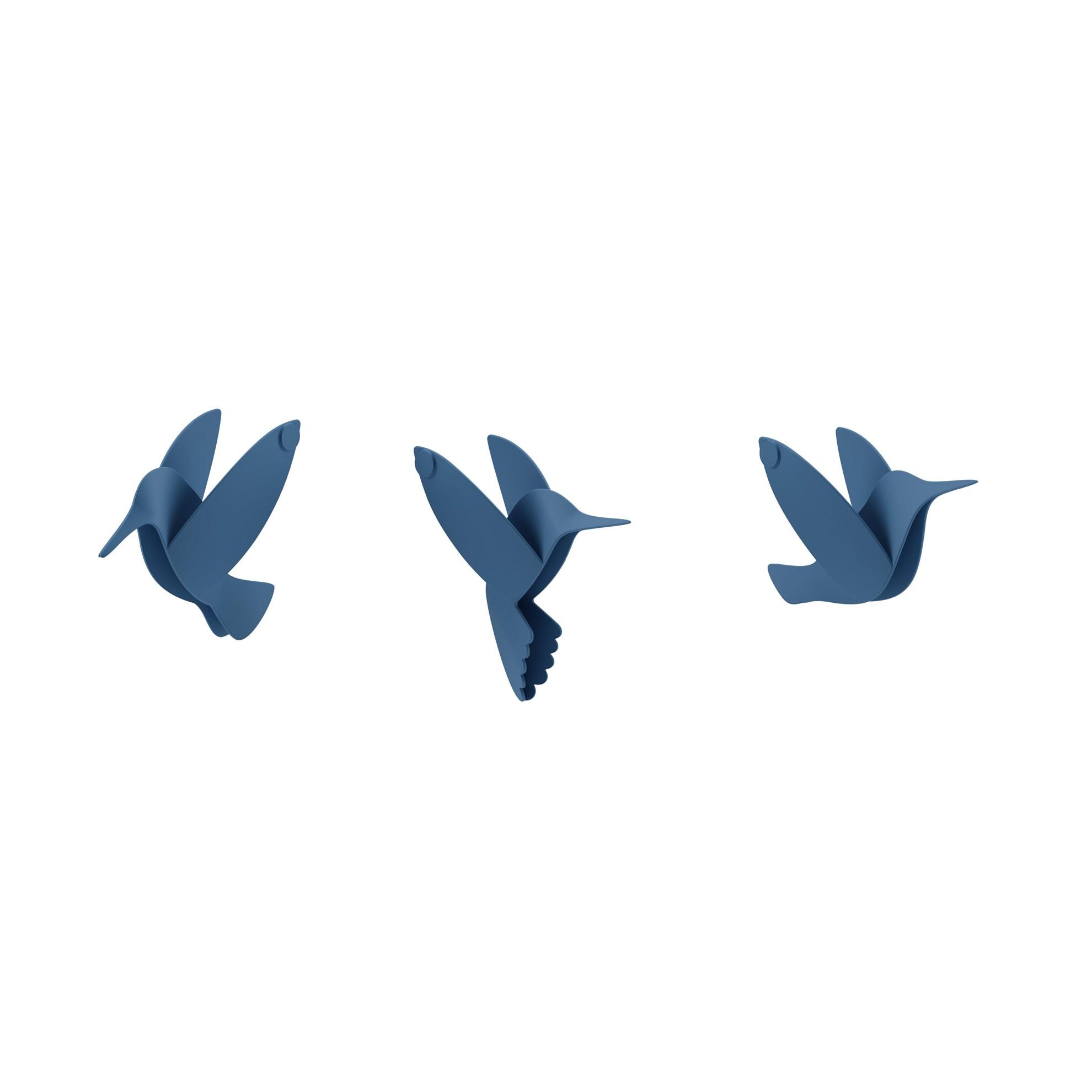 Dekorace na zeď HUMMINGBIRD SET/9ks_2
