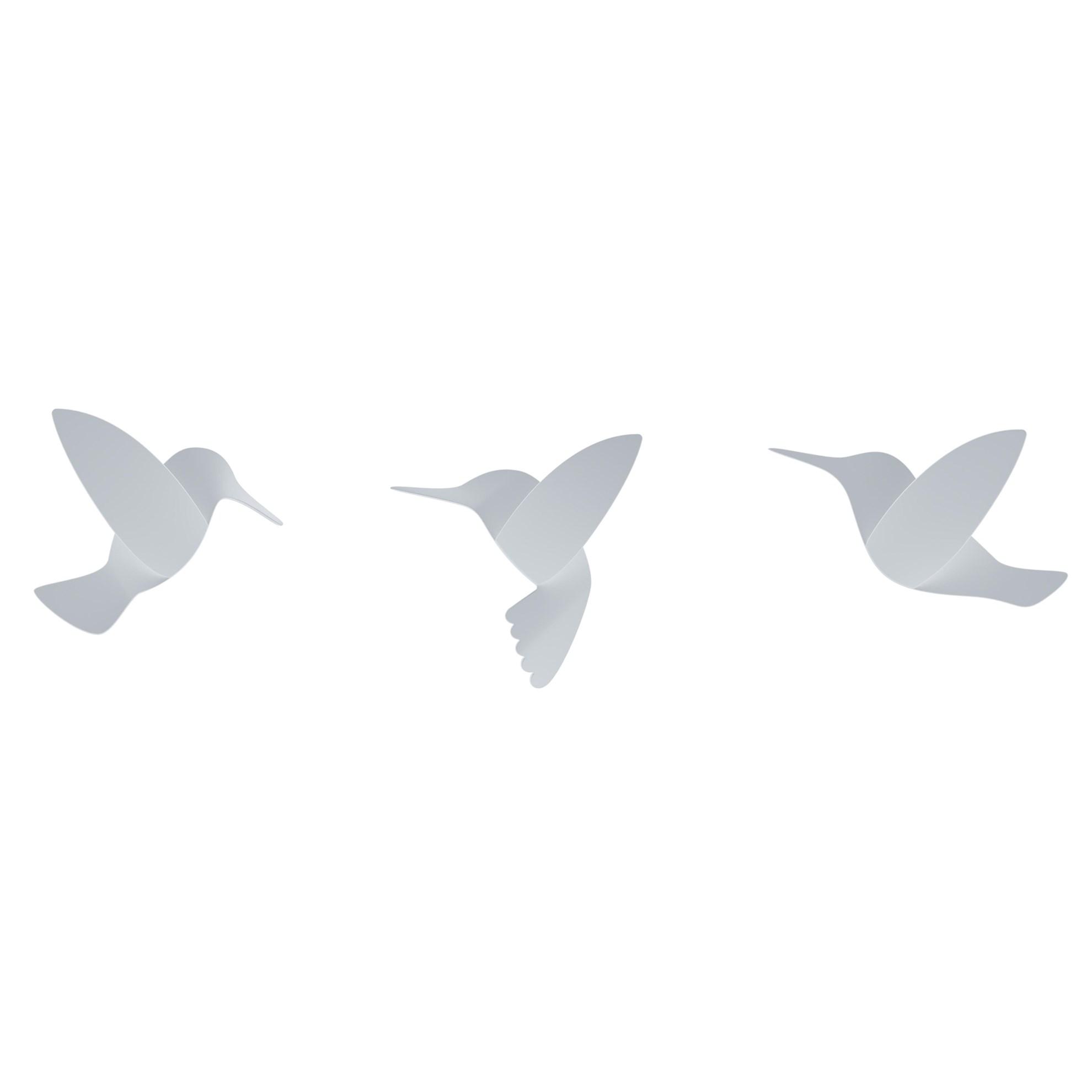 Dekorace na zeď HUMMINGBIRD SET/9ks_1