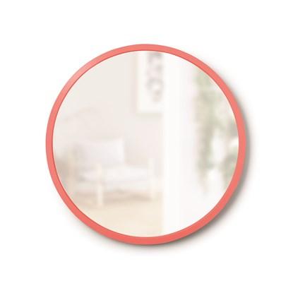 Zrcadlo HUB na zavěšení 45 cm korálové_0