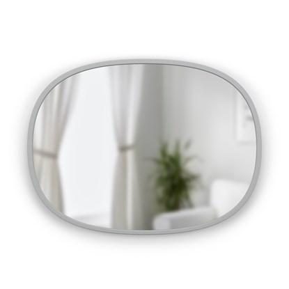 Zrcadlo HUB oválné 45x60 cm šedé_2