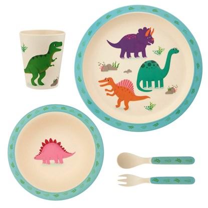 Dětský jídelní set Dinosaurs_5