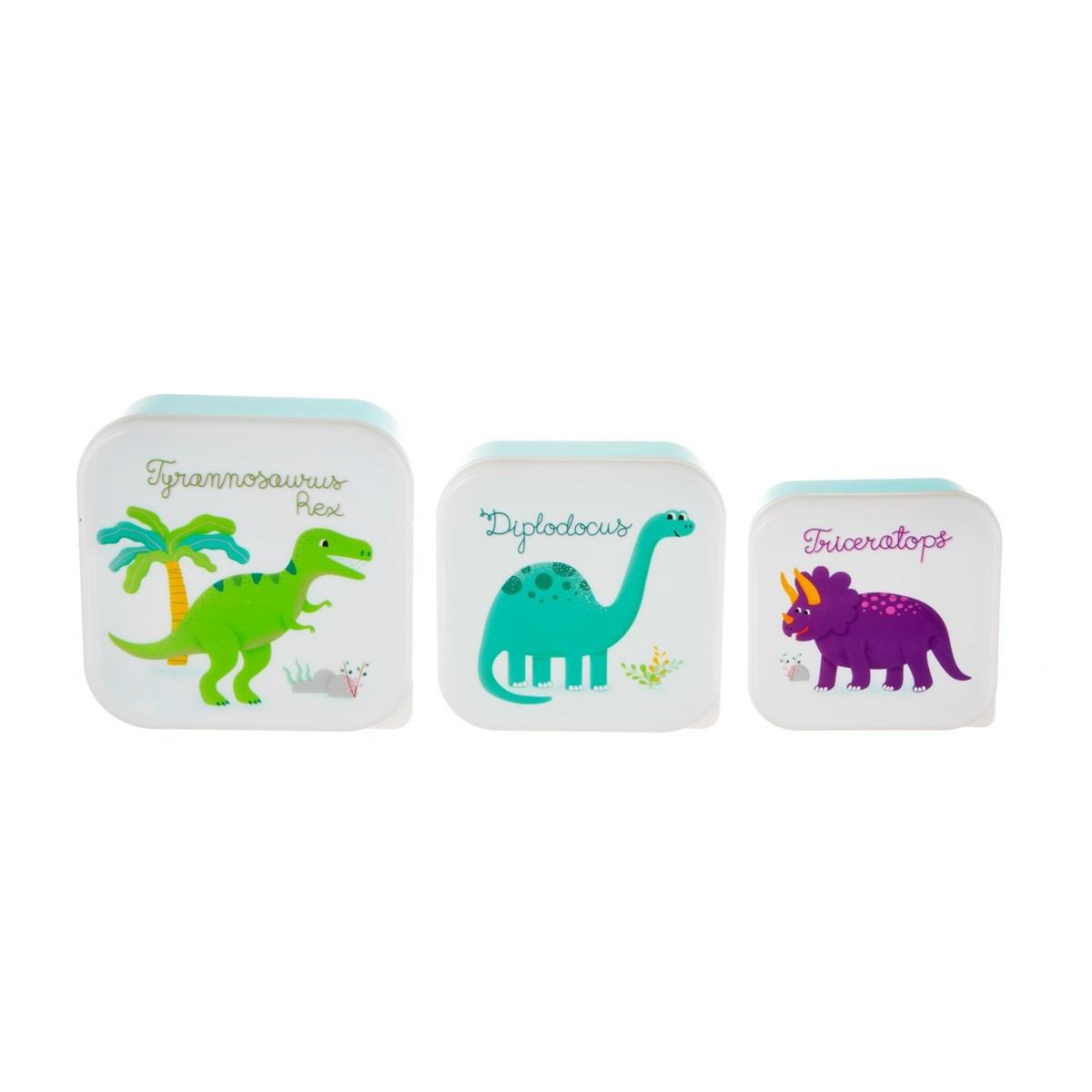 Boxy na svačinu Dinosaurs SET/3ks_1
