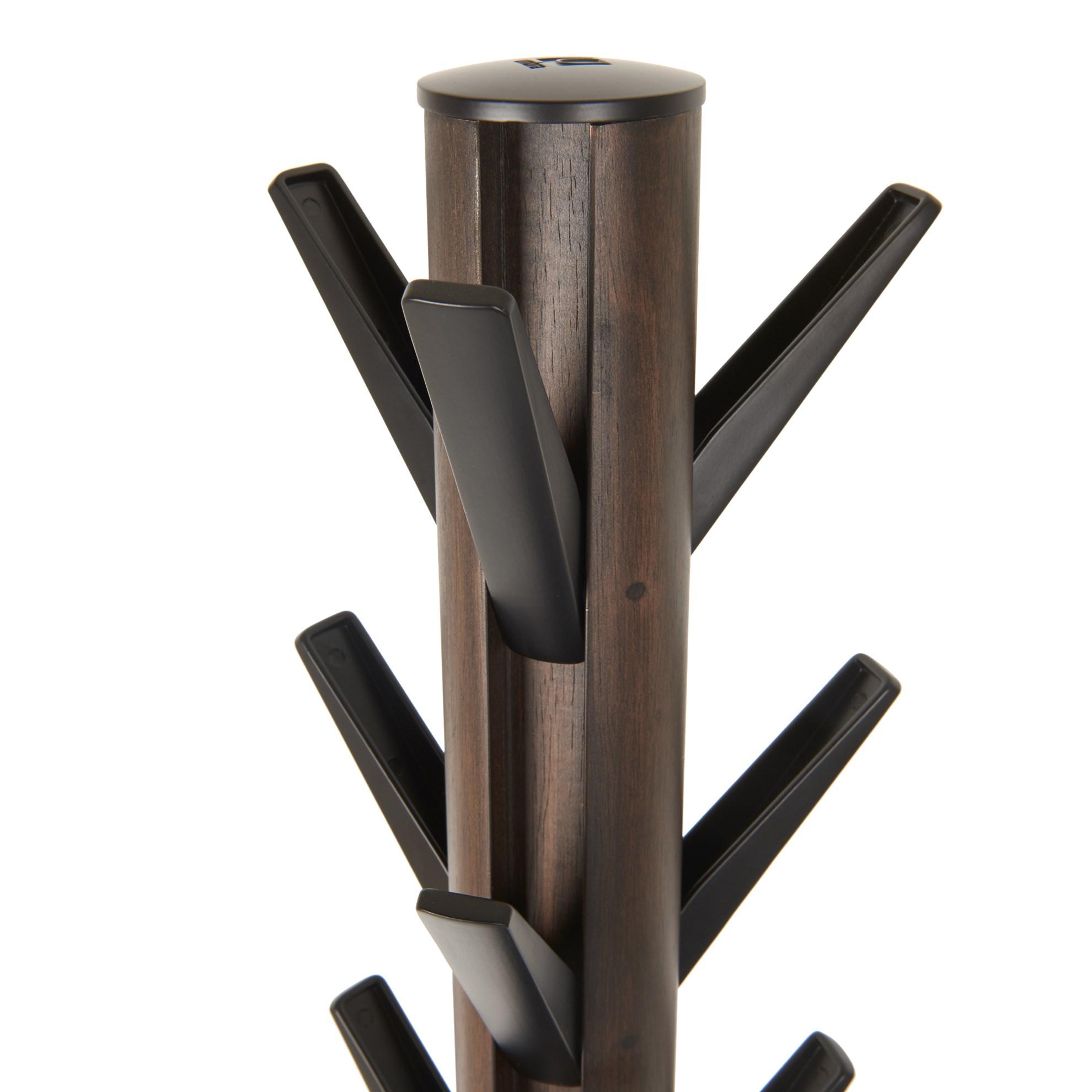 Věšák FLAPPER 165x57 cm ořech/černá_6