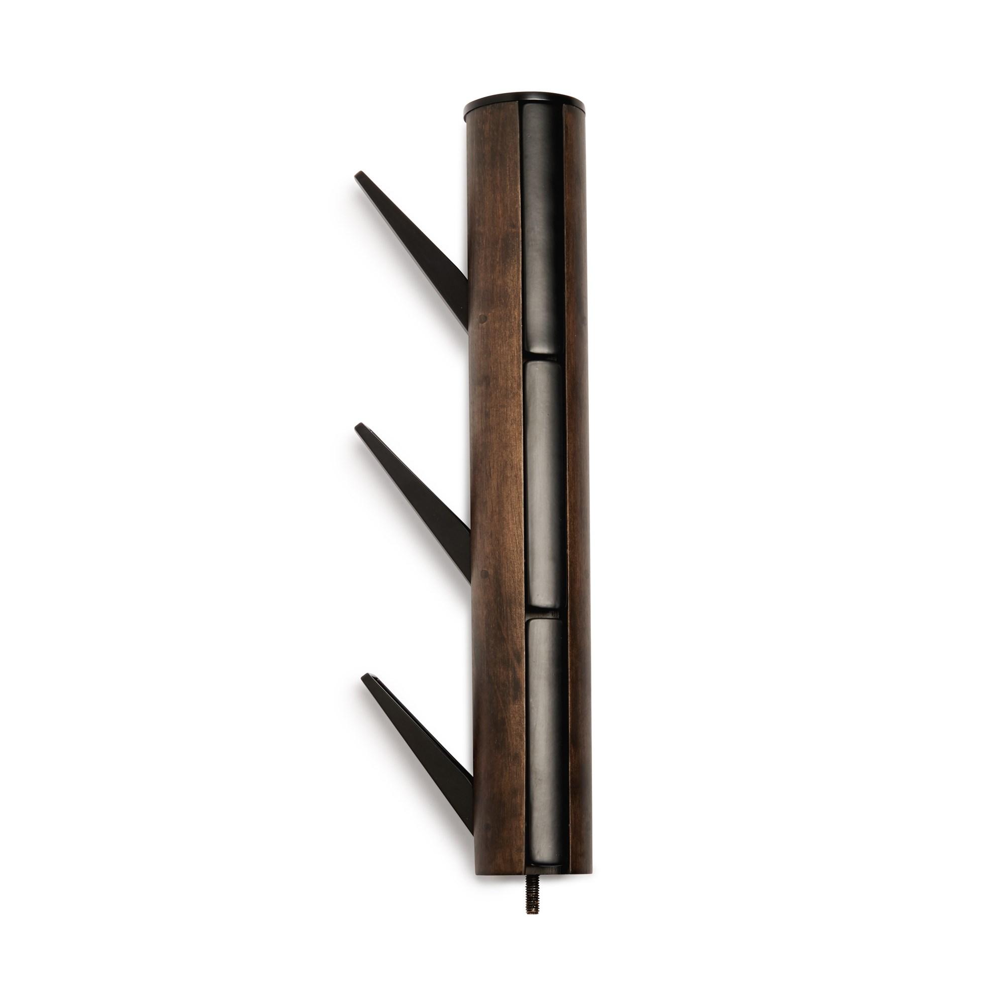 Věšák FLAPPER 165x57 cm ořech/černá_8