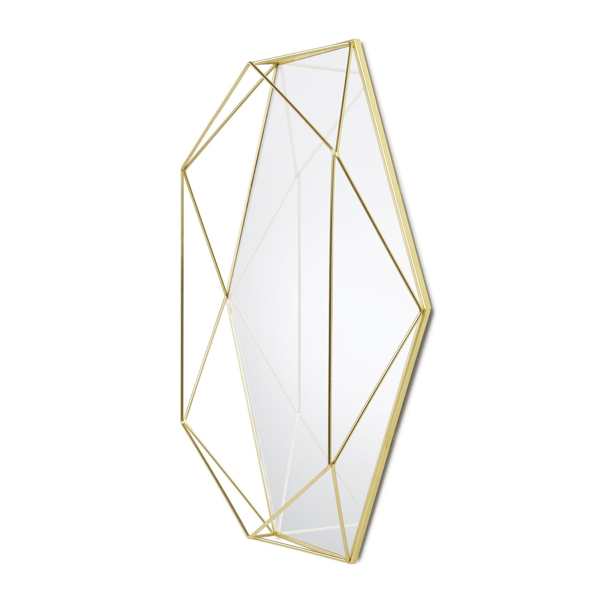 Zrcadlo PRISMA mosazné_1
