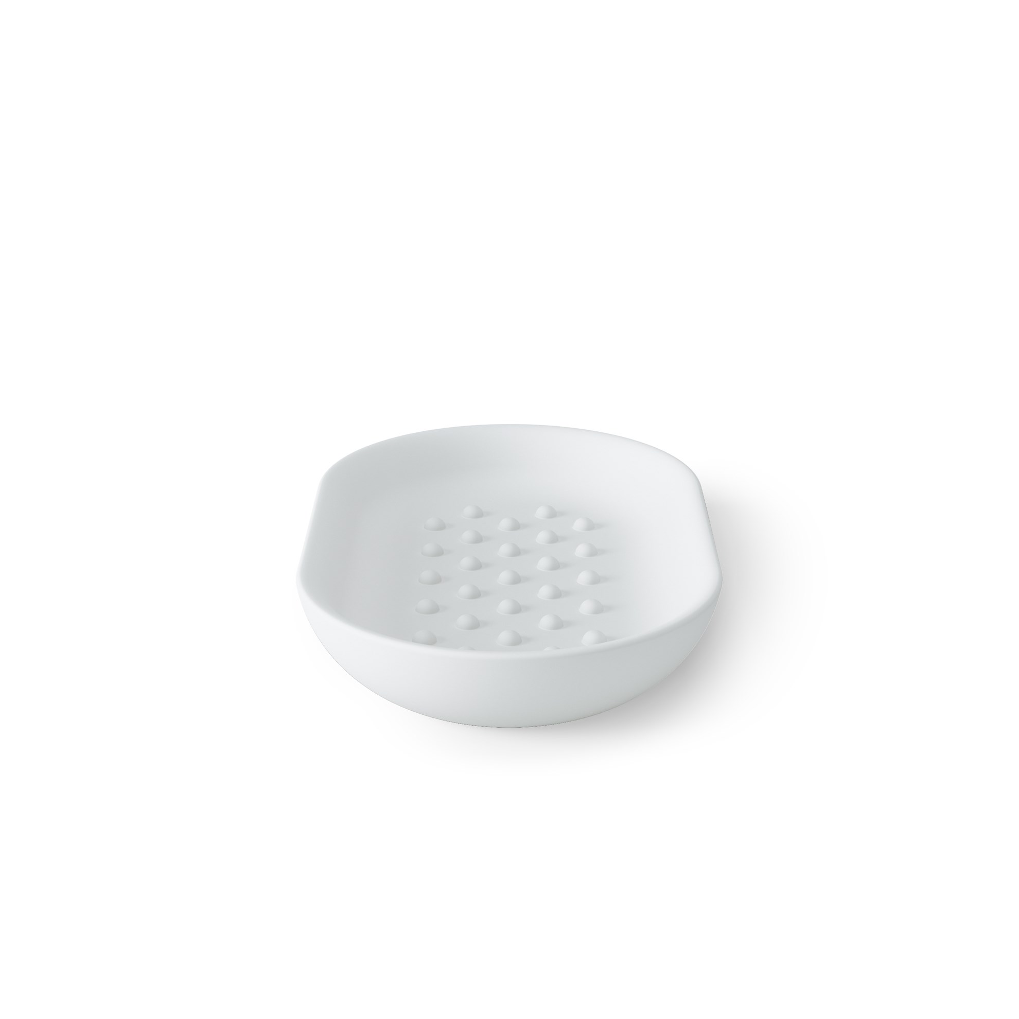 Miska na mýdlo JUNIP bílá_2