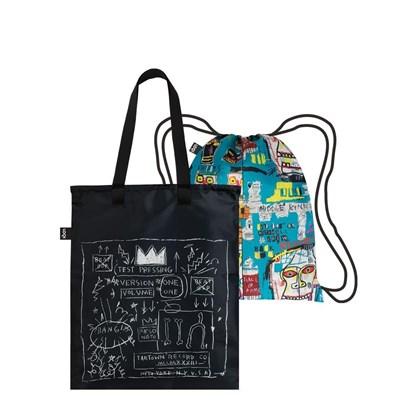 SET taška+batoh LOQI MUSEUM J.M.BASQUIAT_2