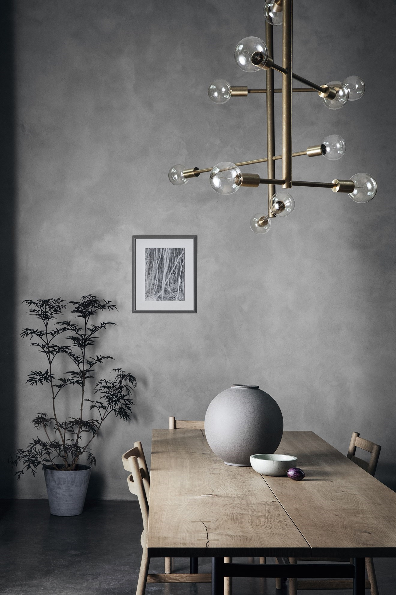 Obrázek z Květináč COLUNA 32 cm světle šedý