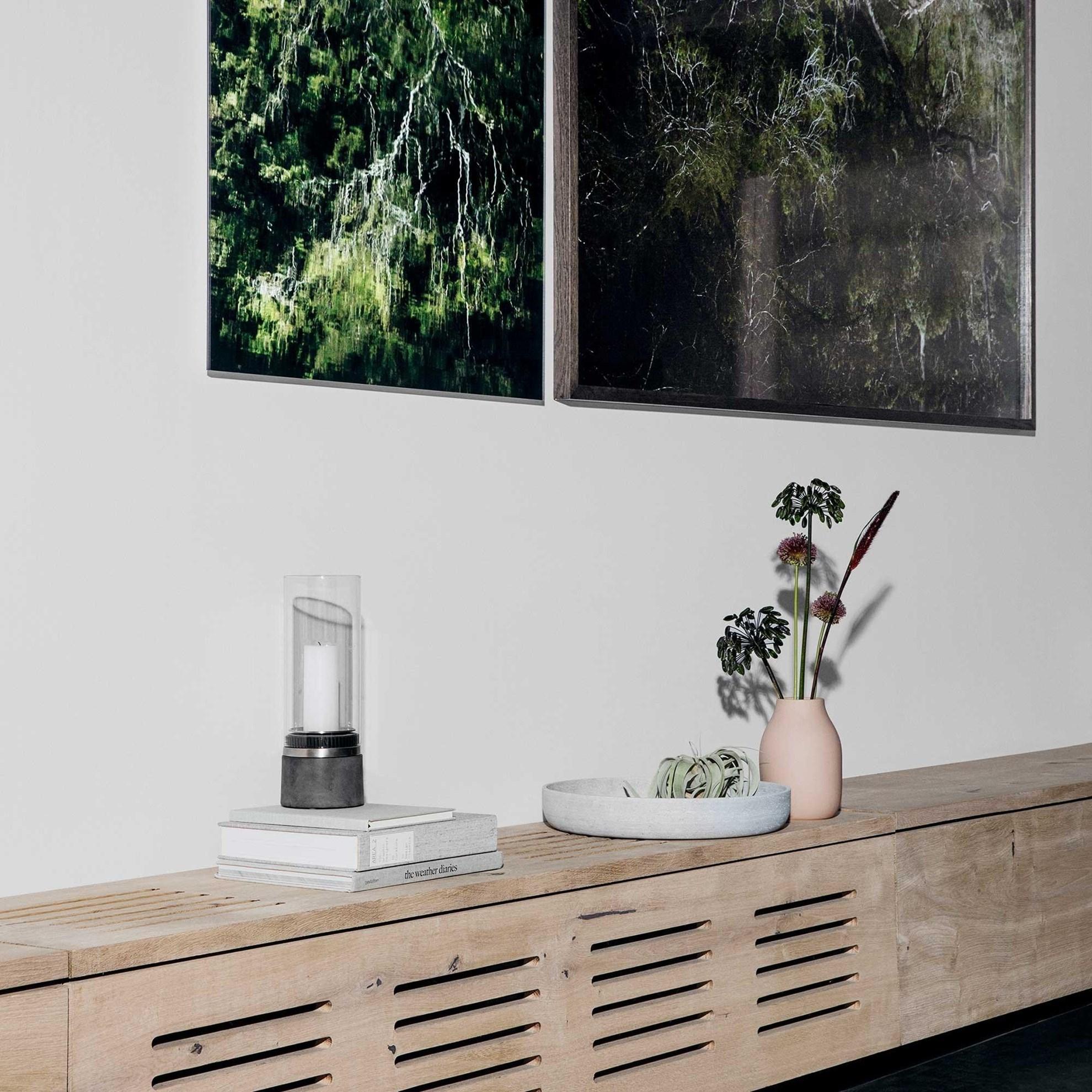 Obrázek z Váza COLORA 15 cm pudrová