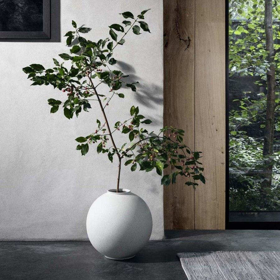 Obrázek z Váza RUDEA 36,5 cm bílá