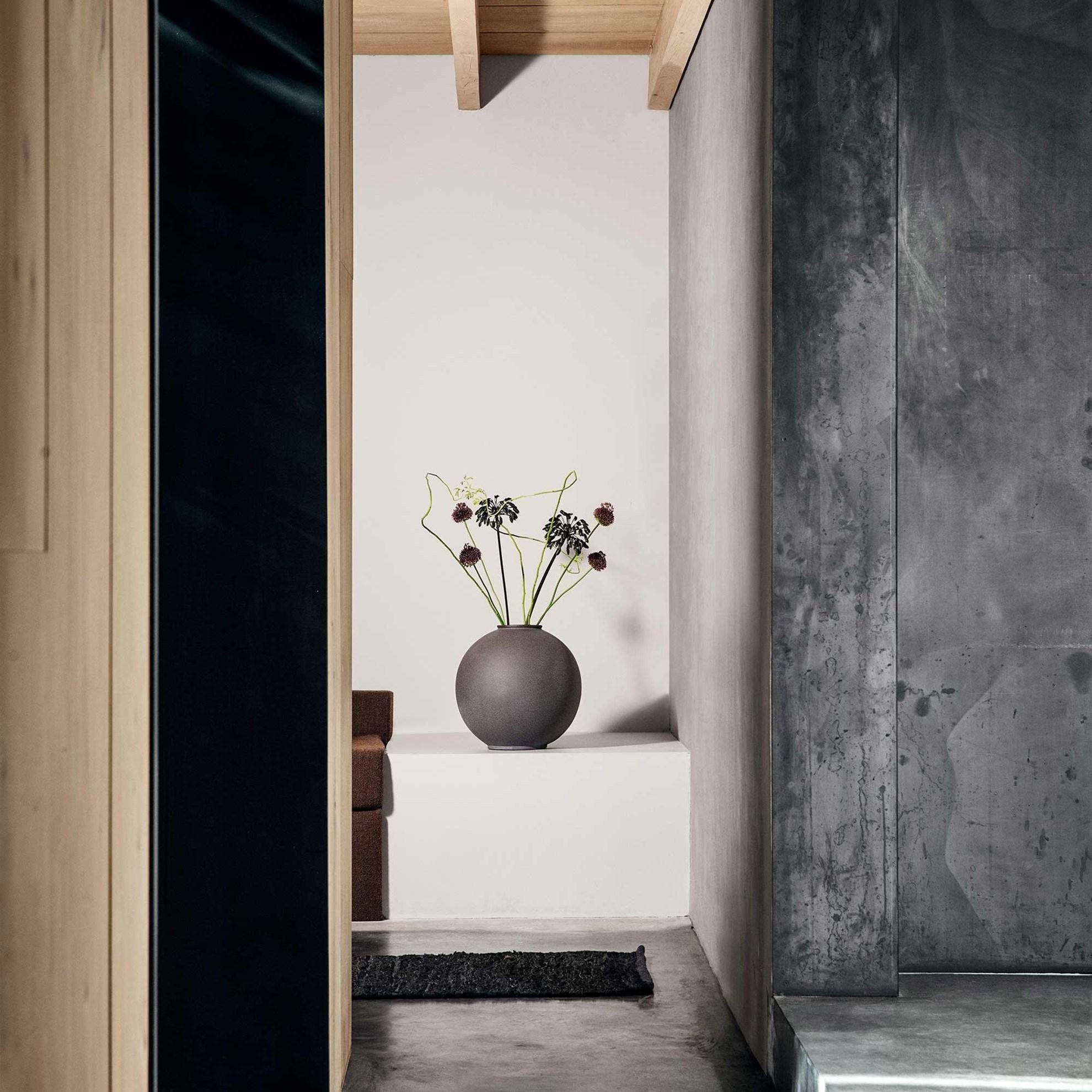 Obrázek z Váza RUDEA 22,5 cm antracit